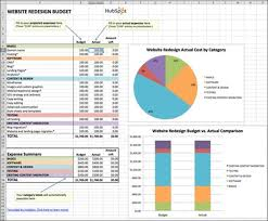 Excel Home Finance Template 10 Top Tips For Creating An Excel Budget Or Excel Budget Template