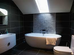 bathroom a freestanding tub mid sized trendy kids bathroom white