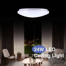 round 40w led ceiling light fixture l bedroom kitchen aluminum modern flush mount fixtures ebay