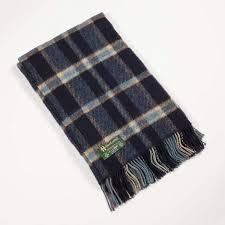 irish plaid wool throw bbc shop