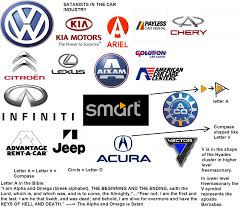 car logos satanist u0027s monopoly on oil and the car industry exposed truth