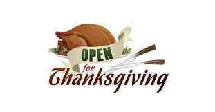 murfreesboro restaurants open on thanksgiving day