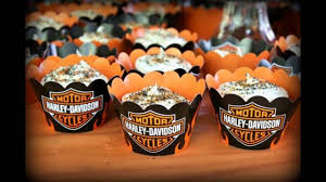 harley davidson party themed decorating ideas youtube