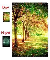 amazon com startonight wall art canvas trees of life nature usa