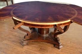 round mahogany dining table round mahogany dining table dining room ideas