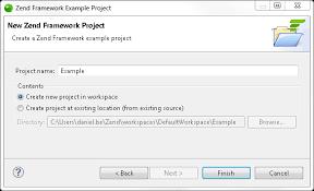 zend framework 2 override layout zend studio online help creating and running a zend framework