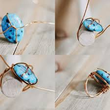 girls stone rings images Diy stone ring projects for girls pretty designs jpg