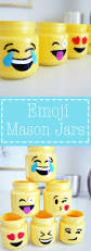 emoji mason jars food jar simple diy and emoji