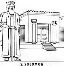 coloring page for king solomon solomons temple coloring page bell rehwoldt com