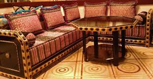 canapé a vendre salon en bois et tissu en tunisie chaios com