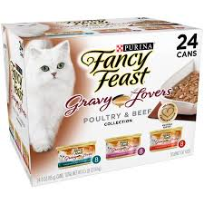 purina fancy feast gravy poultry beef feast collection