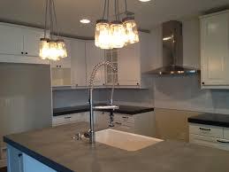 polished concrete countertops best concrete kitchen countertop