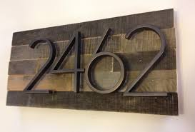 personalized home decor signs home decor alluring personalized address plaques with reclaimed