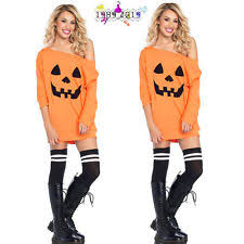 Halloween Costumes Pumpkin Woman Halloween Costume Pumpkin Women Ebay