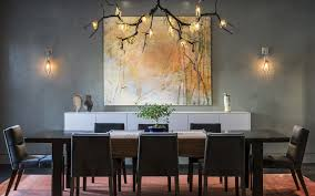 Unique Pendant Lights Dining Room Unique Pendant Lamp With Tree Twig Pattern And Wall