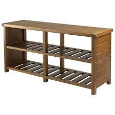 storage bench with shelf entryway storage bench with coat rack