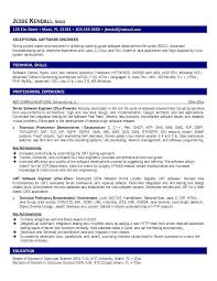 resume formatting software 13 software engineer resume sles riez sle resumes riez