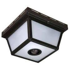 motion activated ceiling light hz 4305 bk motion ceiling light fixture w 360 degree detection