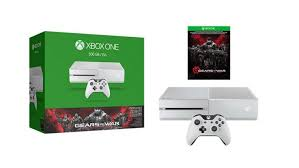xbox one 500gb gears of war ultimate edition console bundle for more cheap xbox one console deals this white xbox with gears is