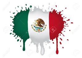 Mexixan Flag Sketch Mexican Flag Royalty Free Cliparts Vectors And Stock