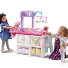 Baby Doll Changing Table Step2 And Care Deluxe Nursery Playset Toys