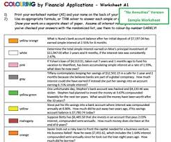 by financial applications veggie tales 30 and 8 worksheets mosaics