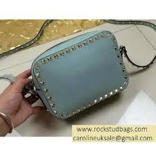 light blue crossbody purse valentino rockstud crossbody bag light blue ve10919 203 12