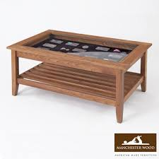 Glass Display Coffee Table Stylish Coffee Table Glass Top Lancaster Mission Glass Top Display