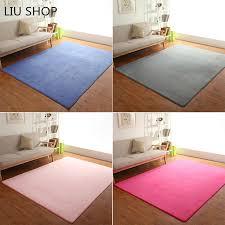 coral velvet carpet bedroom living room table mat room balcony