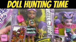 doll hunting walmart u0026 toysrus monster high family barbie my