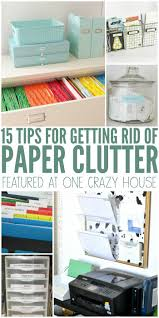Office Organization Ideas 25 Unique Organizing Paper Clutter Ideas On Pinterest Paper