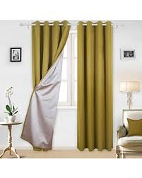 Silver Window Curtains Spectacular Deal On Deconovo Thermal Insulated Blackout Curtains