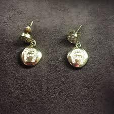 aigner earrings aigner earrings women s fashion on carousell