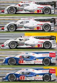 toyota number new audi r18 e tron