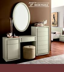 White Vanity Table With Drawers Modern White Dressing Table With Mirror Ans Storage Drawers
