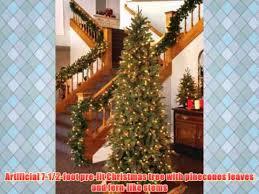 gki bethlehem lighting pre lit 7 1 2 foot pe pvc tree