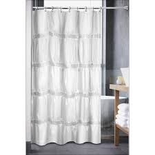 Transfer Bench Shower Curtain Sweet Home Collection Luxurious Rhinestone Shower Curtain