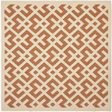 amazon com 5 u0027x5 u0027 square sage brush indoor outdoor area rug