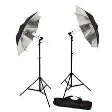 Photography Lighting Kit 840 Watt Photography Portrait Umbrella Continuous Lighting