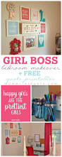 boss bedroom makeover free quote printables boss