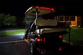 golf cart led strobe lights golf cart led brake and turn light bar 18 led golf cart lights