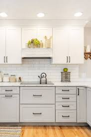 pics of kitchens with white cabinets and gray walls 44 gray kitchen cabinets or heavy light