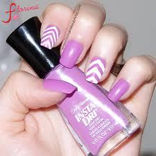 purple and white nail design summer nails nailpolish diy