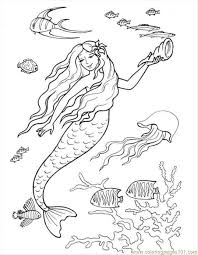 ariel printables coloring pages free printable coloring page