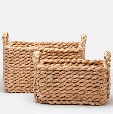 vintage wicker baskets u0026 home décor mecox gardens