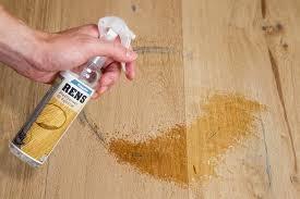remove black spots from oak wood with spot neutralizer