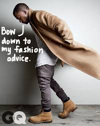 here are kanye west u0027s tips on how to dress like a god just as gq