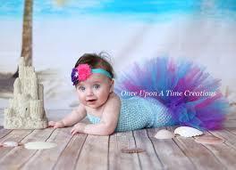 9 12 Month Halloween Costumes Sea Princess Fishtail Tutu Baby Size Newborn 3 6