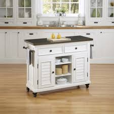 Double Kitchen Island Designs Incomparable White Kitchen Island Cart With White Louvered Kitchen