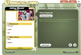 techy things teachers should try trading card creator